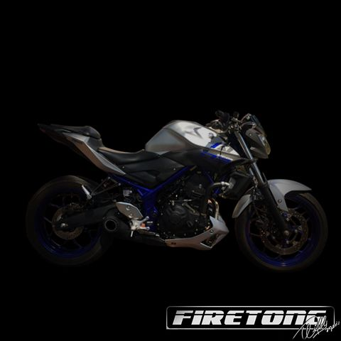 Escapamento Willy Made Yamaha MT-03  /17/  - Firetong