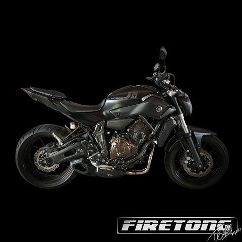 Escapamento Willy Made Yamaha MT-07  /16-17/  - Firetong