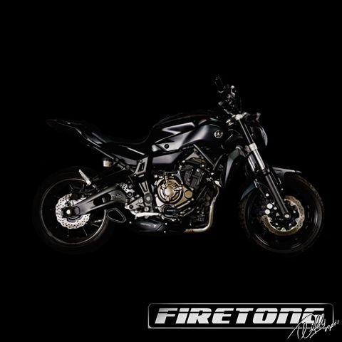 Escapamento Willy Made Yamaha MT-07  /16-20/ Carenagem Nova  - Firetong