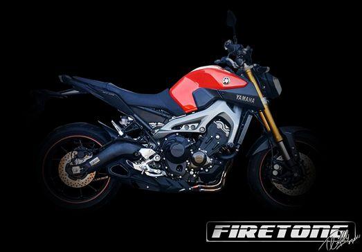 Escapamento Willy Made Yamaha MT-09  /15-17/  - Firetong