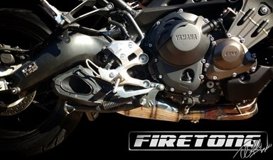 Escapamento Willy Made Yamaha MT-09 Tracer /17~20/  - Firetong