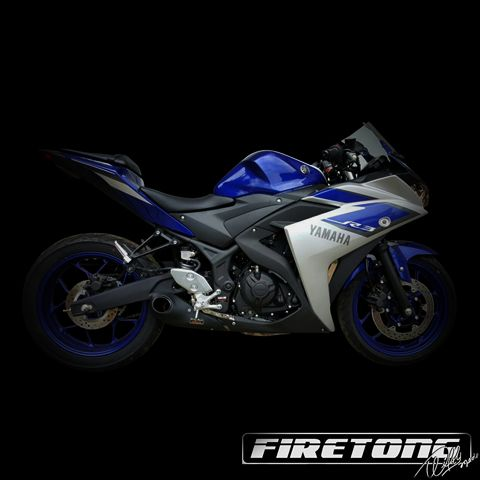 Escapamento Willy Made Yamaha R3  /16-20/  - Firetong