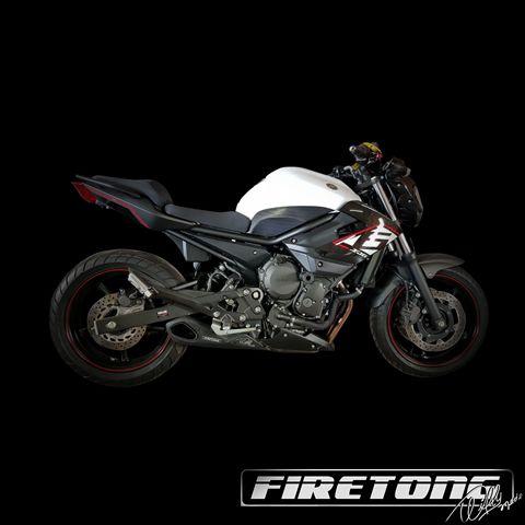 Escapamento Willy Made Yamaha XJ6  /10-18/  - Firetong