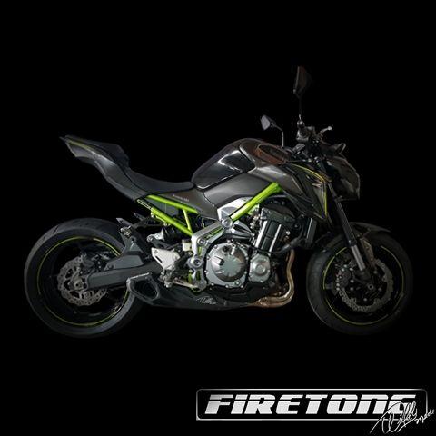 Escapamento Willy Made Full, Kawasaki Z900 /17-18/   - Firetong