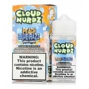 Juice Cloud Nurdz - Peach Blue Razz Ice 100ml