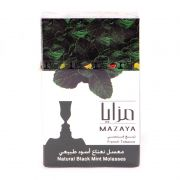 Mazaya - Natural Black With Mint 50g