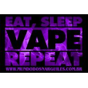 Placas Decorativas - Eat Sleep Vape
