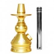 Stem Narguile Marajah Next 14cm - Dourado
