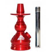 Stem Narguile Marajah Next 14cm - Vermelho