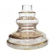 Vaso Pequeno Shisha Glass - Jasmine - Transparente