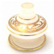 Vaso Pequeno Shisha Glass - Nix - Branco