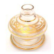 Vaso Pequeno Shisha Glass - Nix - Transparente