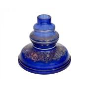 Vaso Shisha Glass Jasmine Grega - Azul