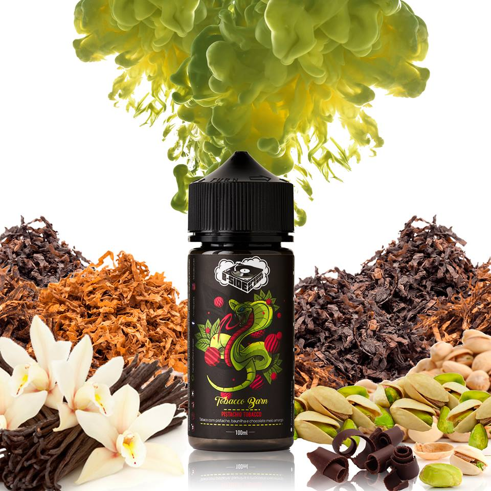 B-Side Juices - Pistachio Tobacco 30 ml