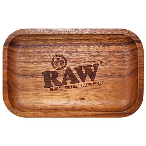 Bandeja Madeira Raw Wooden 18x28cm