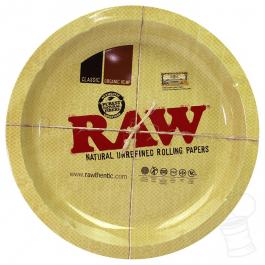 Bandeja Metal Raw Redonda Tray Round
