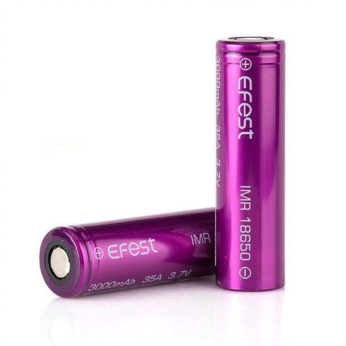Bateria Unidade - Efest 35A 3000mah