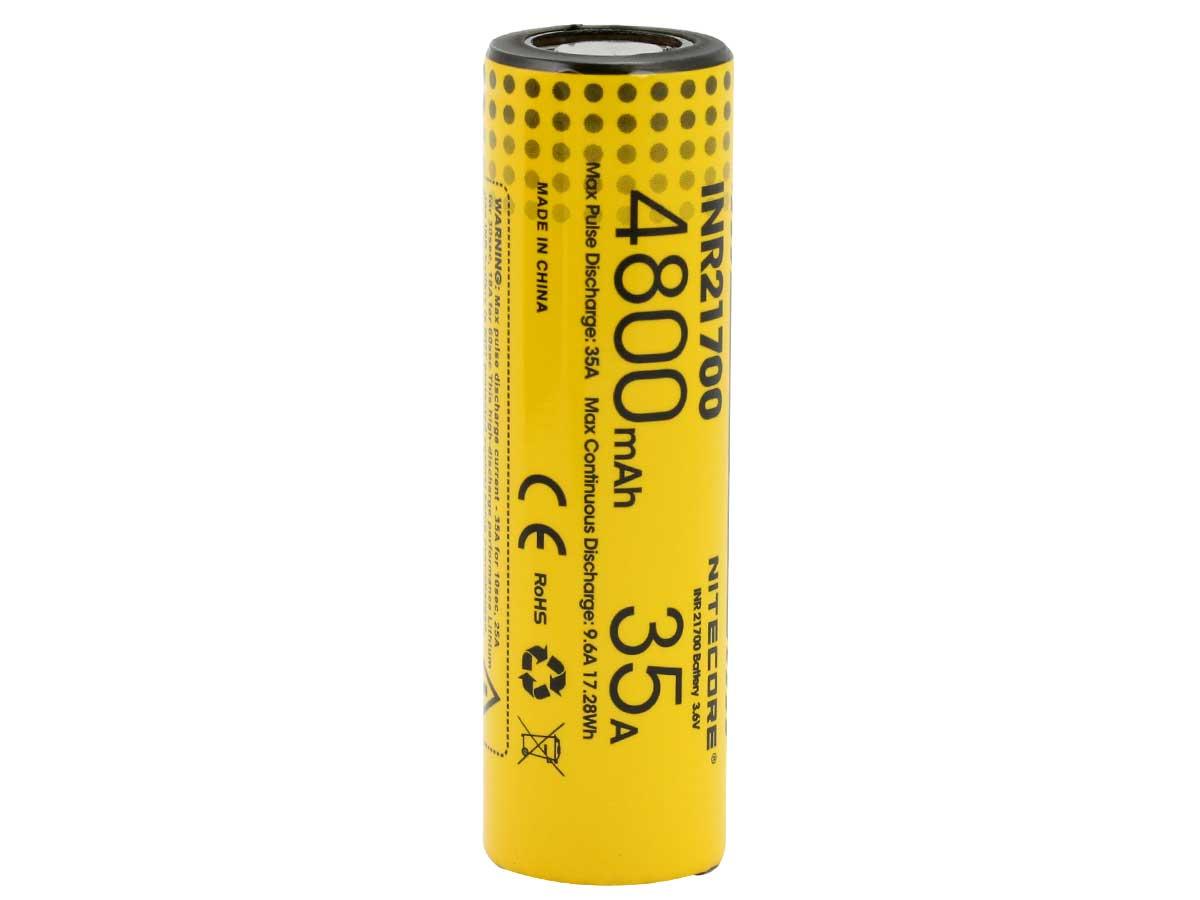 Bateria Unidade - Nitecore 21700 4800 MAH 35A