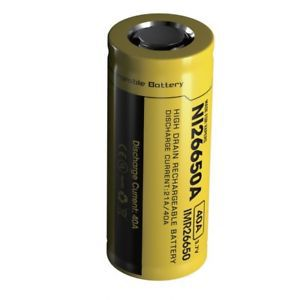 Bateria Unidade - Nitecore 26650 4200 MAH