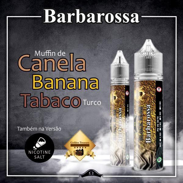 Black Flag Juices - Salt Nic - Barbarossa 15ml