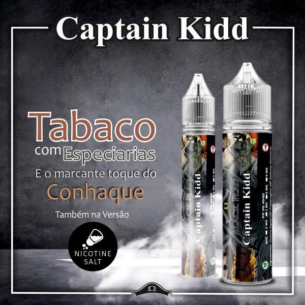 Black Flag Juices - Salt Nic - Captain Kidd 15ml