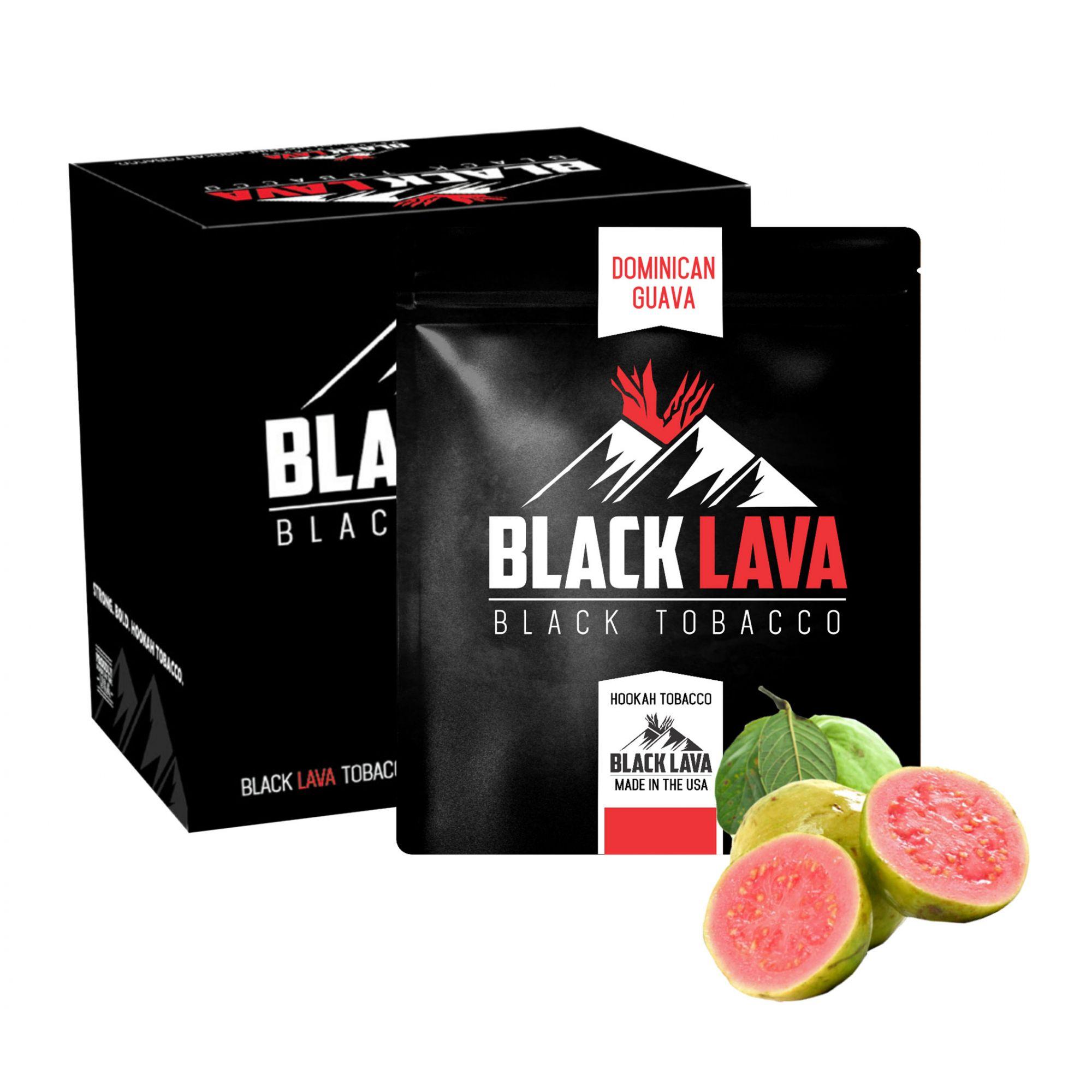 Black Lava - Dominican Guava 200g