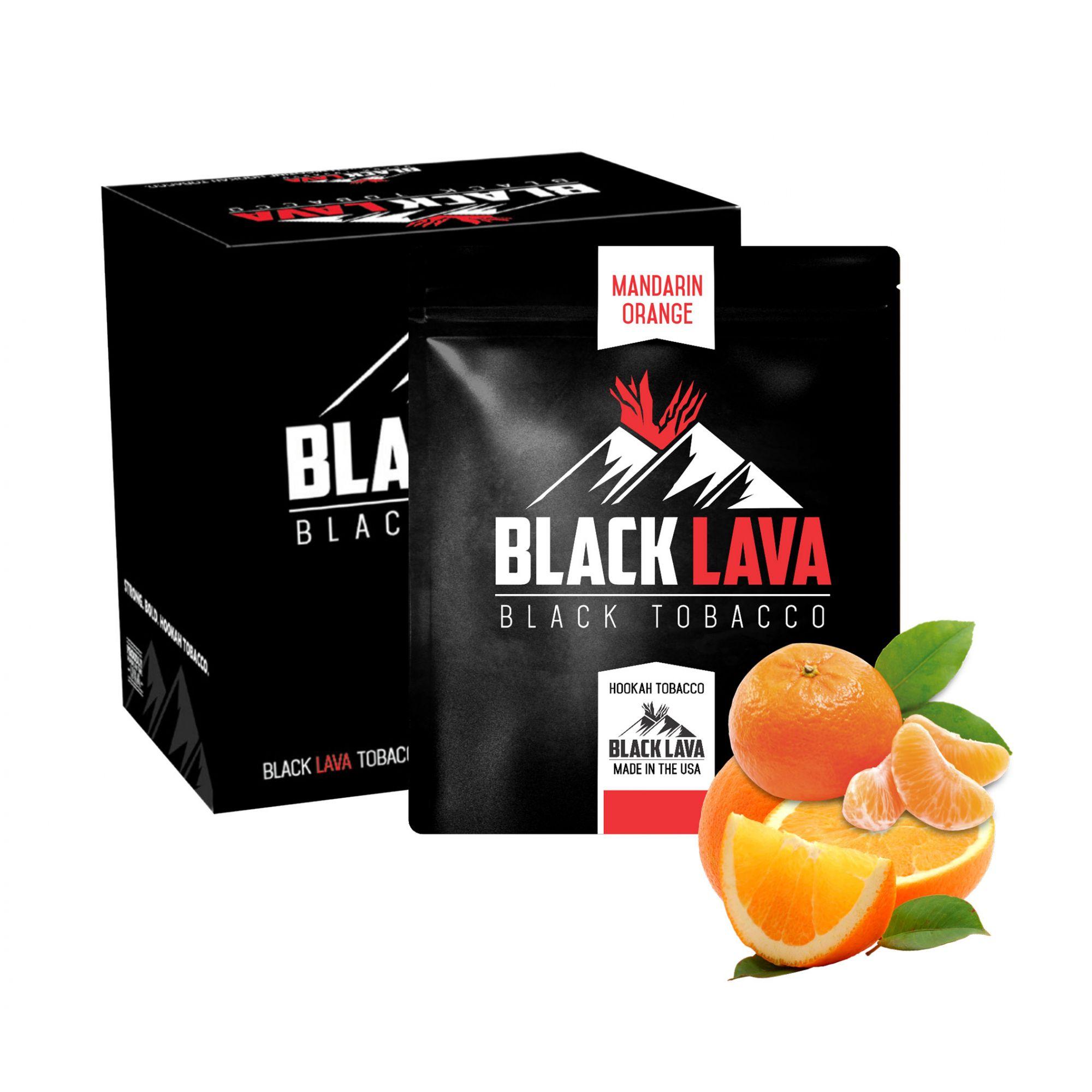 Black Lava - Mandarin Orange 200g