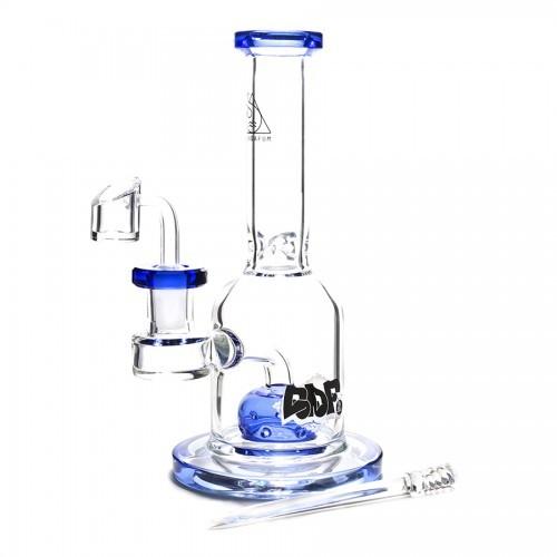 Bong de Vidro Squadafum Premium Top Hat - Azul