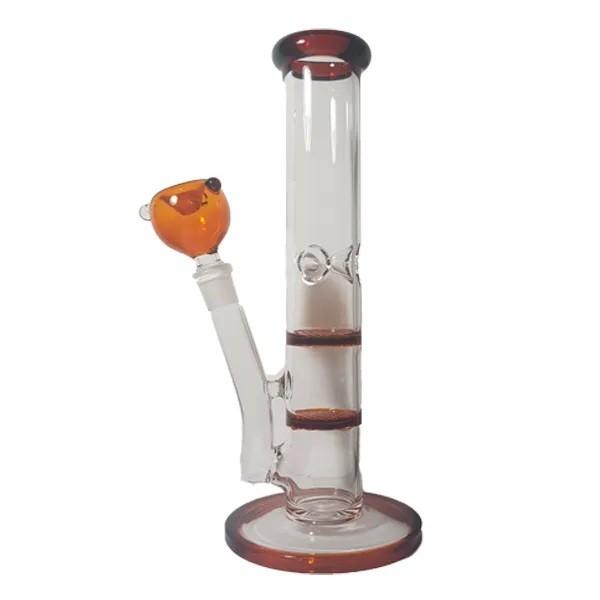 Bong Vidro Ice Double HoneyComb 25cm