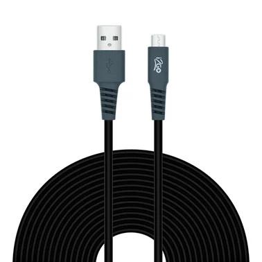 Cabo I2GO Micro USB 3.00m - Preto