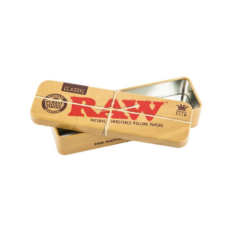 Caixa Metal Raw Tin Case Grande