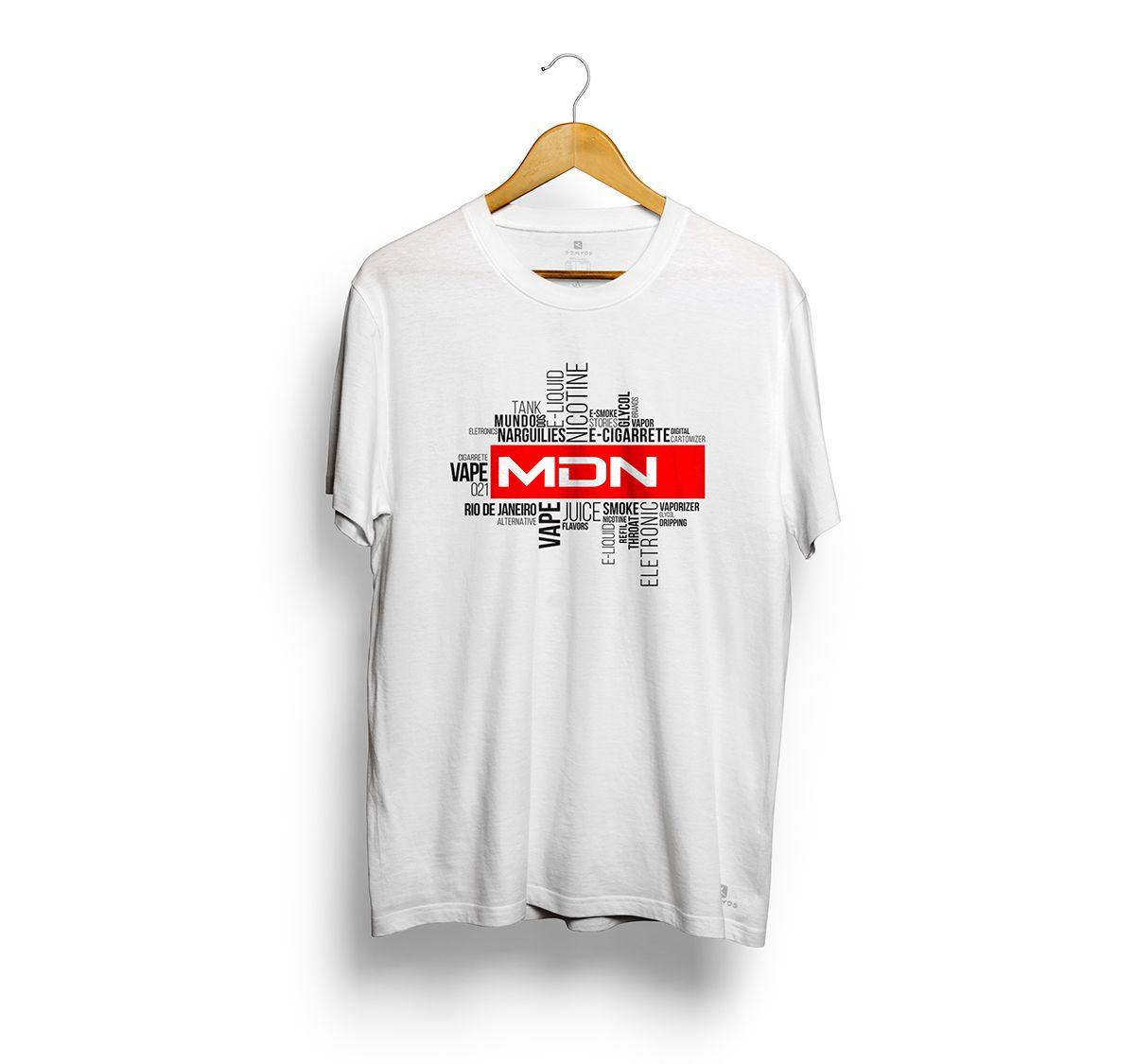 Camiseta Tshirts Branca - Estampa Latter
