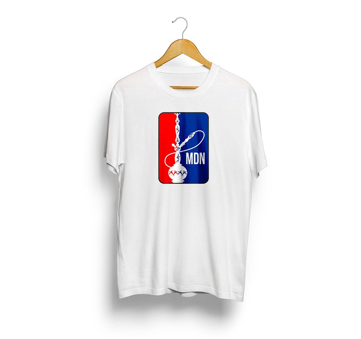 Camiseta Tshirts Branca - Estampa NHL