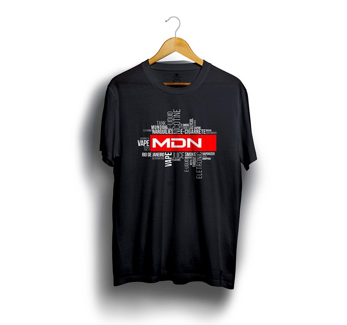 Camiseta Tshirts Preta - Estampa Latter