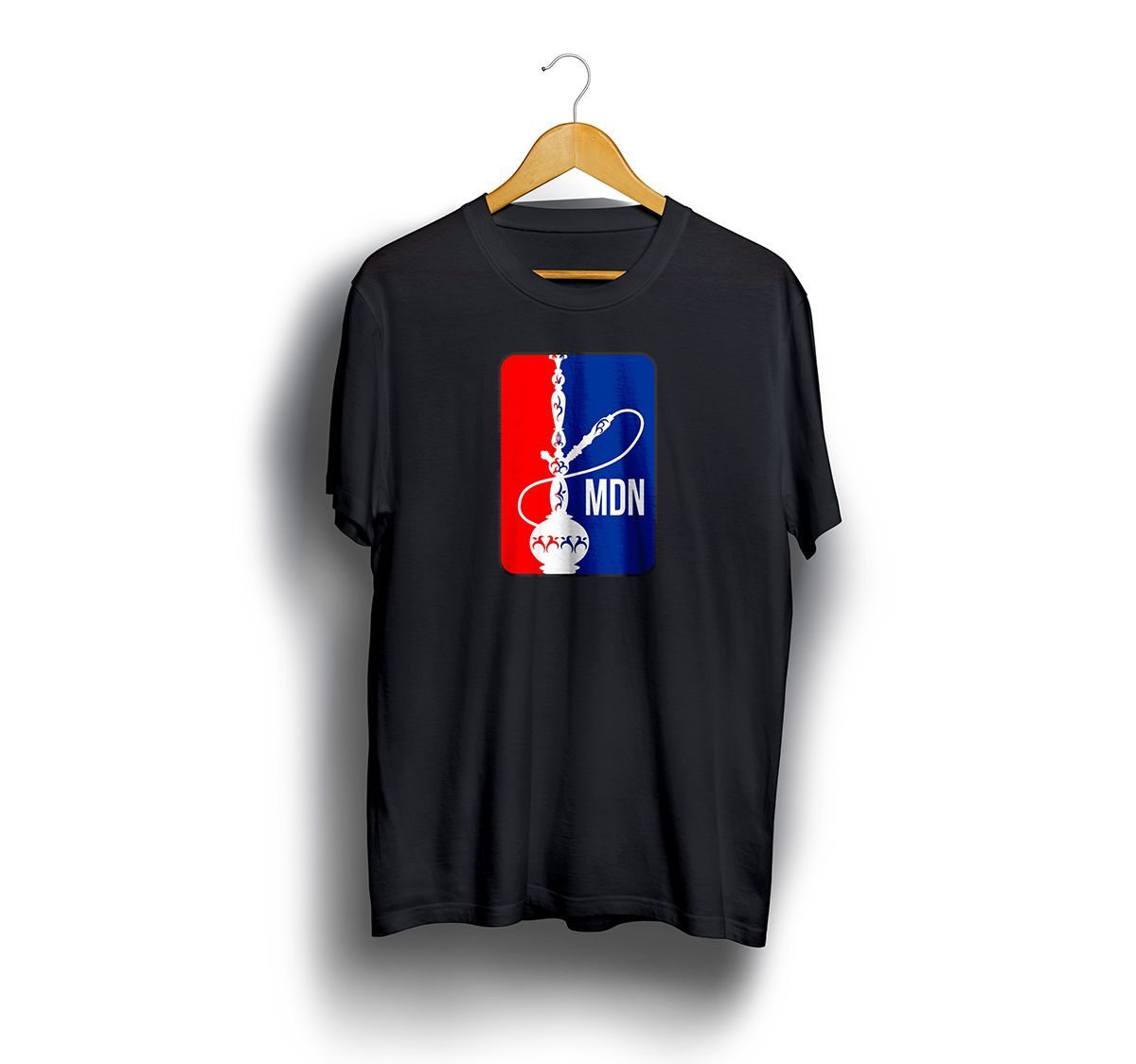 Camiseta Tshirts Preta - Estampa NHL
