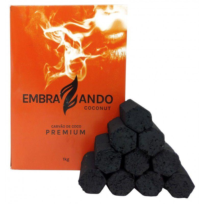 Carvão Coco - Embrazando 1kg