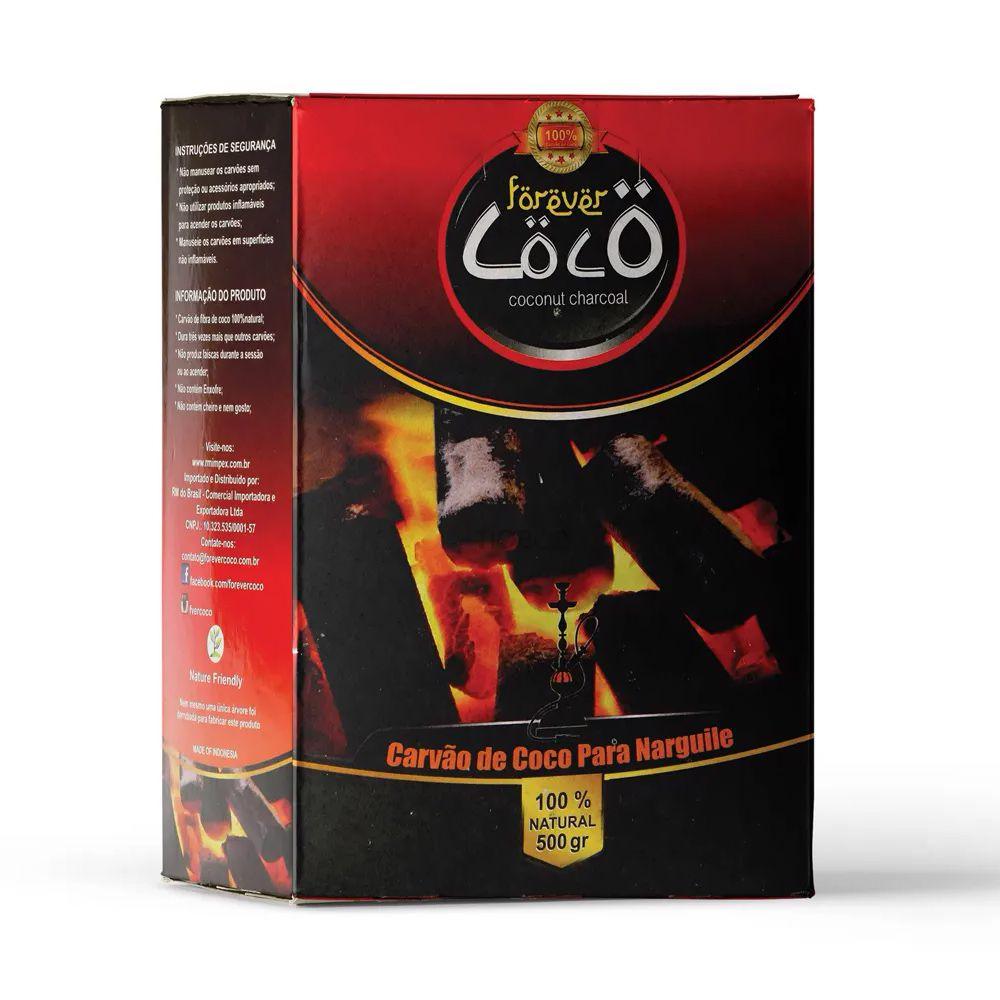 Carvão Coco - Forever 500g