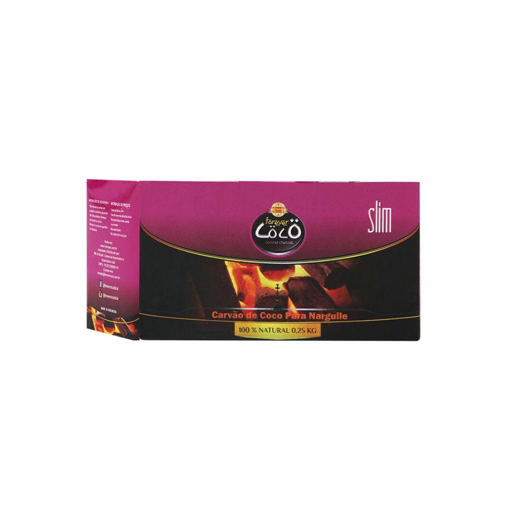 Carvão Coco - Forever Slim 250g