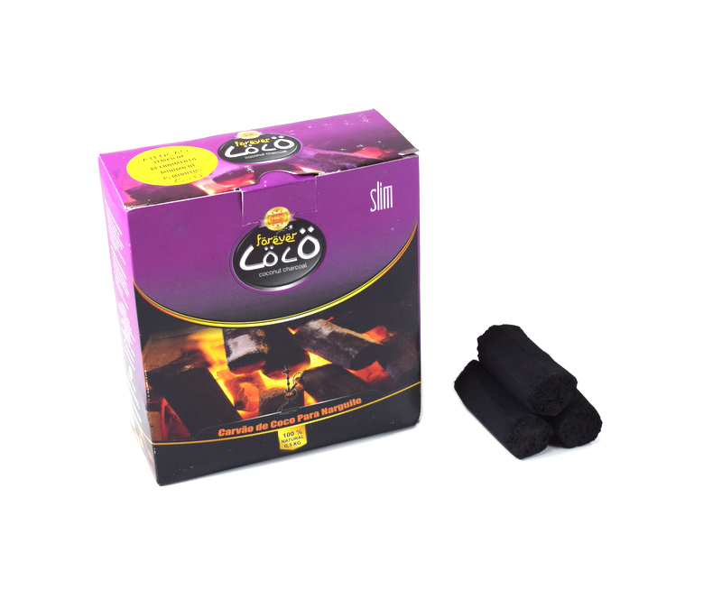 Carvão Coco - Forever Slim 500g