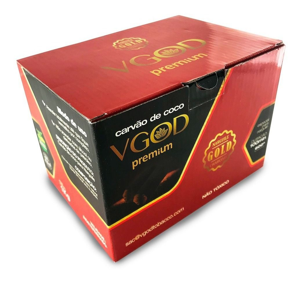Carvão Coco - Vgod Premium 500g