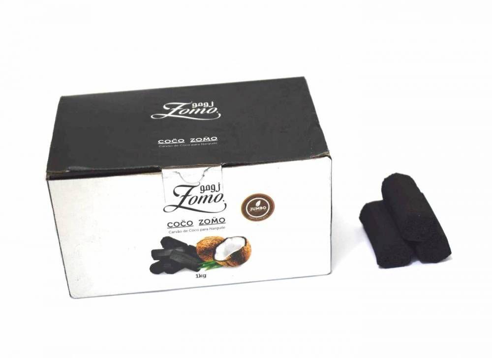 Carvão Coco - Zomo 1kg