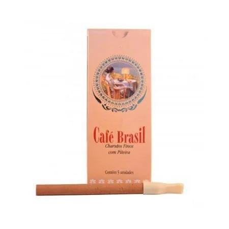 Cigarrilha Café Brasil - Tradicional (5 unidades)