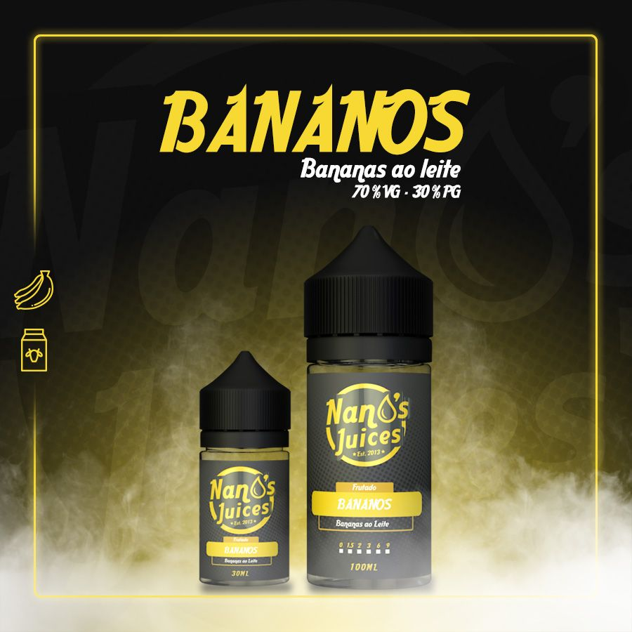 Nano's Juices - Bananos 30 ml