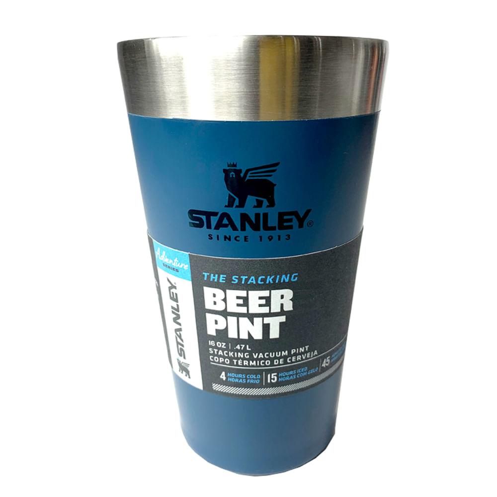 Copo Térmico Stanley Cerveja com Tampa 473ml - Azul