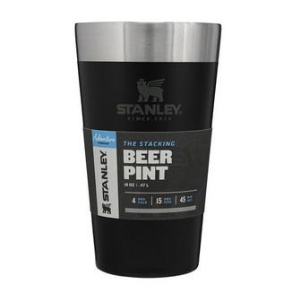 Copo Térmico Stanley Cerveja sem Tampa 473ml - Preto