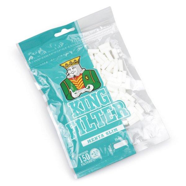 Filtro King Filter Slim Menthol