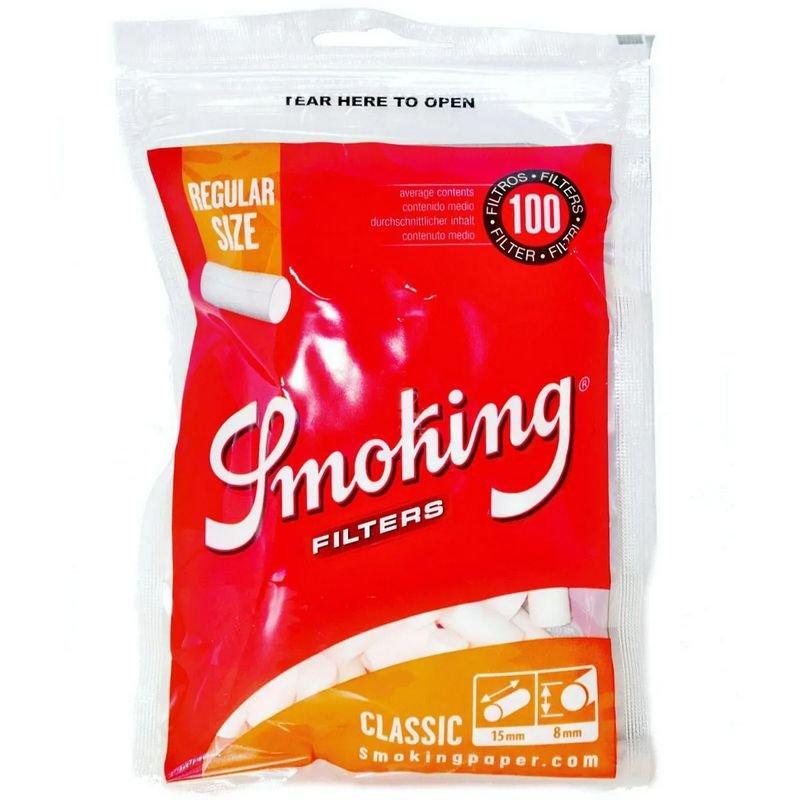 Filtro Smoking Classic Regular 8mm