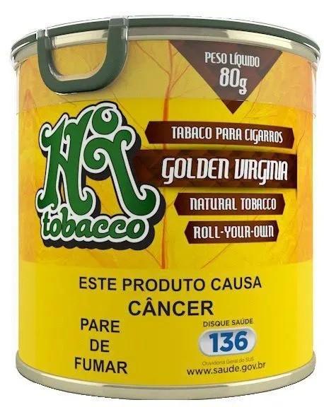 Hi Tobacco - Golden Virginia Lata 80g