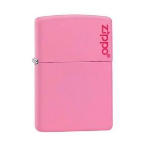 Isqueiro Zippo Logo Pink Matte 238ZI