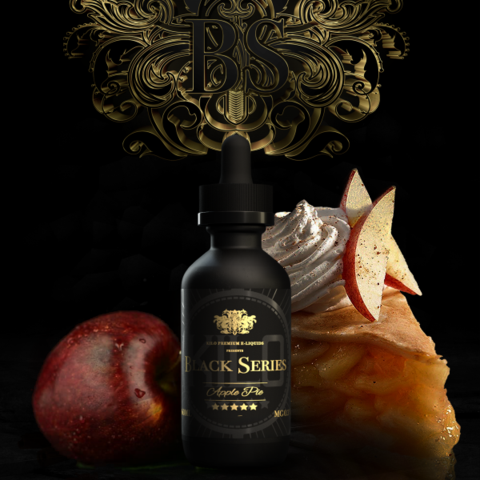 Kilo Premium E-liquid - Black Series - Apple Pie 60ml